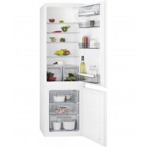 AEG, kombinovani ugradni frižider, SCB61821LS