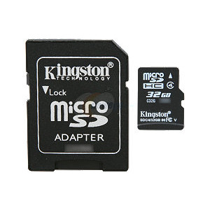 KINGSTON microsdhc SDC4/32GB