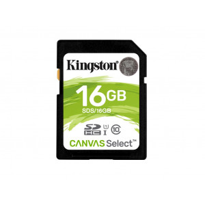 KINGSTON memorijska kartica 16GB SDHC UHS-I Class U1 SDS/16GB 80MB/s 10MB/s