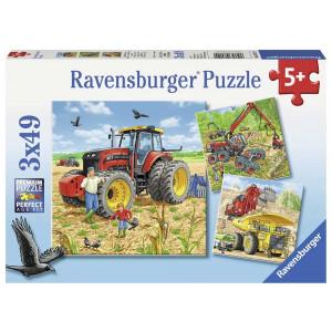 RAVENSBURGER puzzle (slagalice) - mašine RA08012
