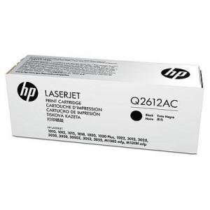 HP PPU No. 12A Black LaserJet Toner Cartridge 1020/1022/3015/3020/3030/3055 [Q2612AC]