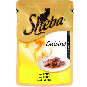 SHEBA hrana za mačku, kesica, piletina, wet, 85g 520001