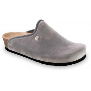 GRUBIN ženske papuče tople 157366 CAKI Sive