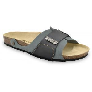 GRUBIN muške papuče 1594010 DARKO Sive 40