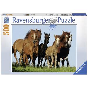 RAVENSBURGER puzzle (slagalice) - konji u galopu RA14717