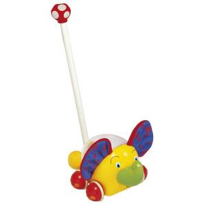 KS KIDS dečija igračka guraj srećno slonče KA10306