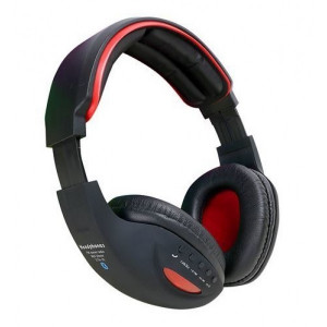 MS BASE slušalice  bluetooth s mikrofonom red