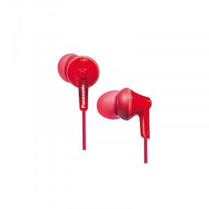 PANASONIC slušalice RP-HJE125E-R red