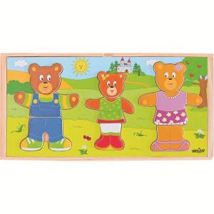 WOODY Puzle -medvedi 90810