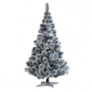 Srebrna novogodišnja jelka 150 cm 21032