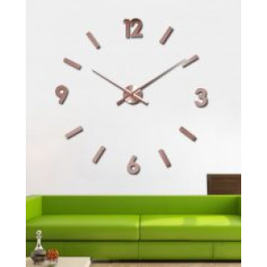 3D Samolepljivi zidni sat T4325C