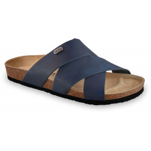 GRUBIN muške papuče 1554010 Morandi Teget 40