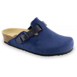 GRUBIN ženske papuče tople 53560 RIM Teget