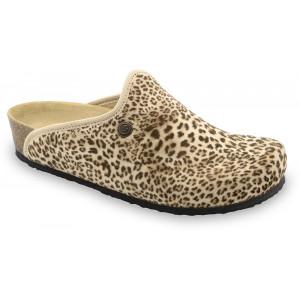 GRUBIN ženske papuče tople 157366 CAKI Šarene