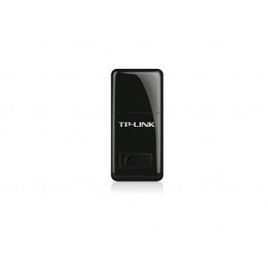 TP-LINK wi-fi usb adapter 300mbps mini, 1xusb 2.0, wps dugme, 2xinterna antena tl-wn823n
