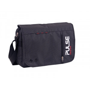 "PULSE torba na rame ""SCATE"" black Dot 120734"