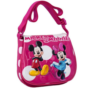 Minni i Mickey torba na rame sa preklopom 2075451