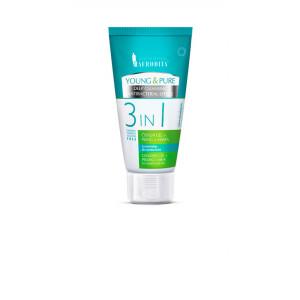 AFRODITA 3 u 1 gel za čišćenje+piling+maska YOUNG&PURE 150ml
