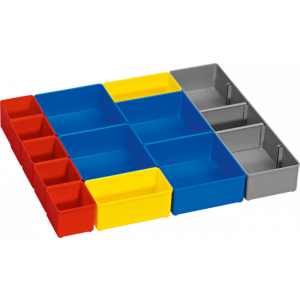BOSCH 12-delni set uložnih kutija za i-BOXX 53 (1600A001S5)