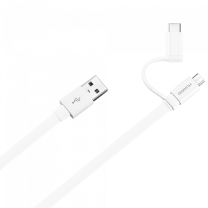 HUAWEI Kabl AP55S Micro USB/USB Tip C - USB A - 407141 White
