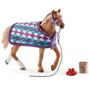 SCHLEICH konj Engleske rase sa ćebetom 42360