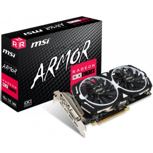 MSI grafička karta AMD Radeon RX 570 8GB RX 570 ARMOR 8G OC