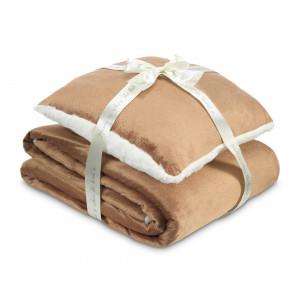 DORMEO warm hug set II WS brown 130X190