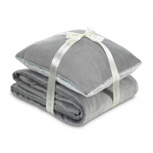 DORMEO warm hug set II ws gray 130X190