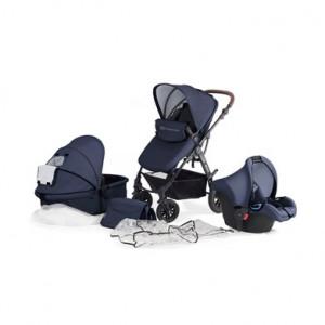 Kinderkraft Moov kolica za bebe set 3u1 navy KKWMOOVNAV00NC