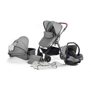 Kinderkraft Moov kolica za bebe set 3u1 grey KKWMOOVGRY00NC
