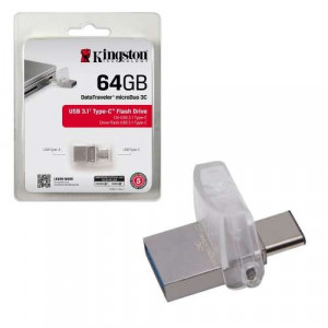 KINGSTON fleš 64GB DataTraveler microDuo 3.1 Type-C