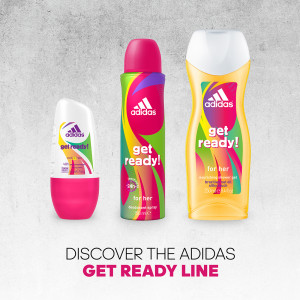 ADIDAS WOMAN GET READY SET