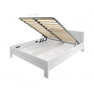 MATIS krevet MASIV Box 160x200 - BELA 344309