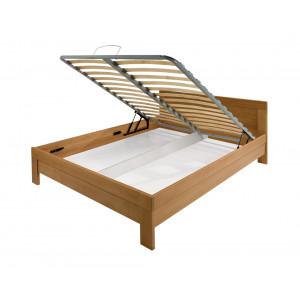 MATIS krevet MASIV Box 160x200 - BUKVA 344301