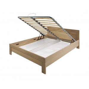 MATIS krevet MASIV Box 180x200 - Hrast
