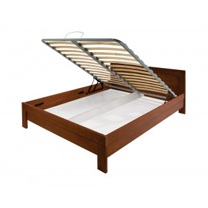 MATIS krevet MASIV Box 180x200 - Trešnja