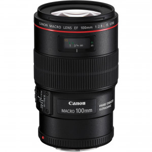 CANON EF 100mm 2.8 L Macro IS USM