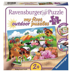 RAVENSBURGER puzzle (slagalice) - Slatka farma zivotinja RA05609