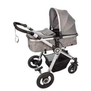 X-CROSS kolica za bebe 3 u 1 siva