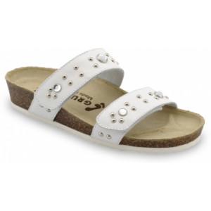 GRUBIN ženska papuča MALTA 0593690 bela