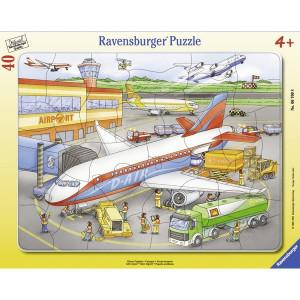 RAVENSBURGER puzzle - na arodromu RA06700