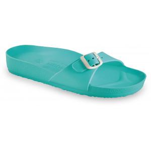 GRUBIN ženske papuče 3043700 MADRID LIGHT Zelene