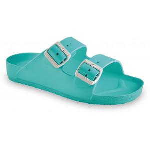 GRUBIN ženske papuče 3233700 KAIRO LIGHT Zelene