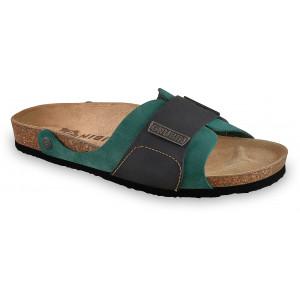 GRUBIN muške papuče 1594010 DARKO Zelene 40