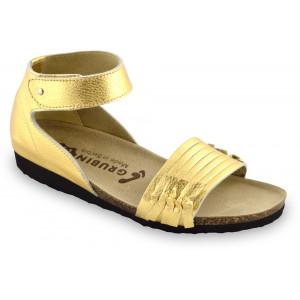 GRUBIN ženske sandale 2113670 WHITNEY Zlatne