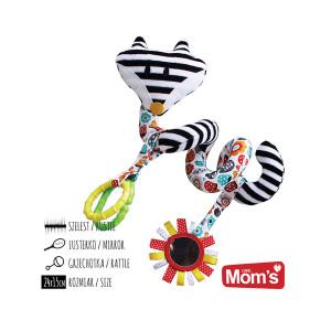 MOM'S CARE plišana zmija spirala 951