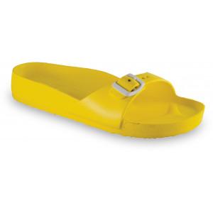 GRUBIN ženske papuče 3043700 MADRID LIGHT Žute