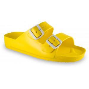GRUBIN ženske papuče 3233700 KAIRO LIGHT Žute