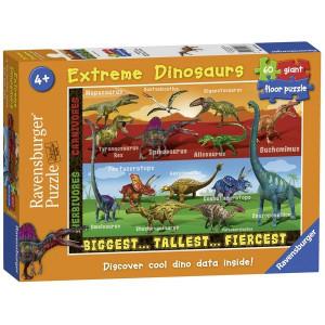 RAVENSBURGER puzzle (slagalice) - Dinosaurus najveci I najopsniji RA05516
