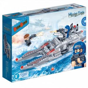 BANBAO kocke borbeni brod 6211